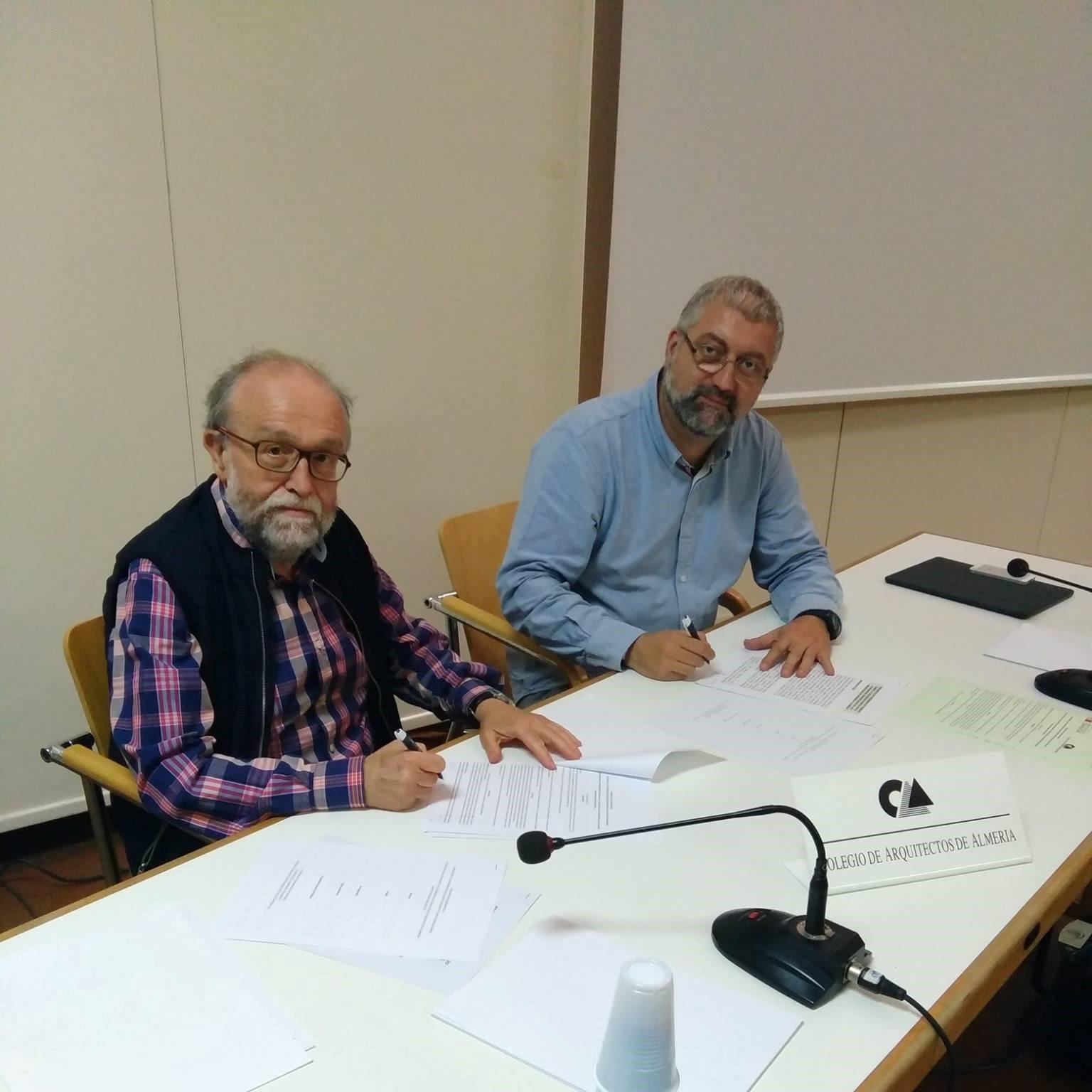 Convenio seguridad sísmica - Coa Almería