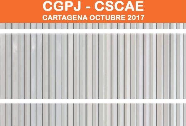 XI JORNADAS CGPJ-CSCAE – 4 al 7 de octubre – Cartagena